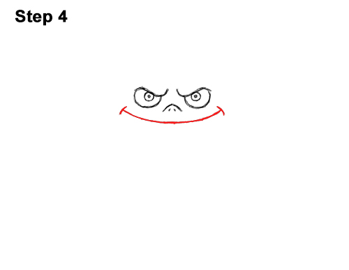 How to Draw Angry Funny Cute Halloween Cartoon Bat 4