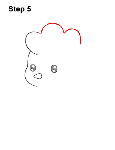 How to Draw Cute Cartoon Chicken Chibi Kawaii 5