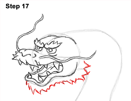 Draw Chinese Dragon 17