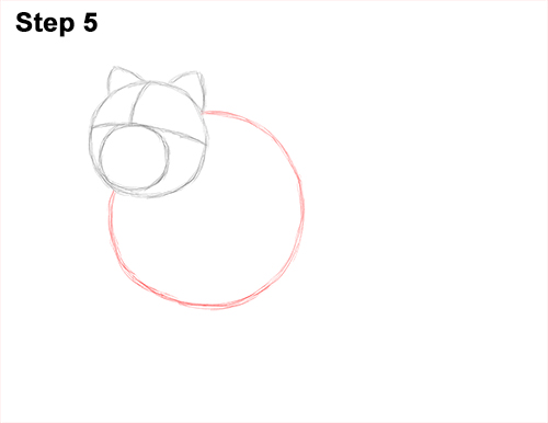 How to Draw Cute Chow Chow Puppy Dog 5