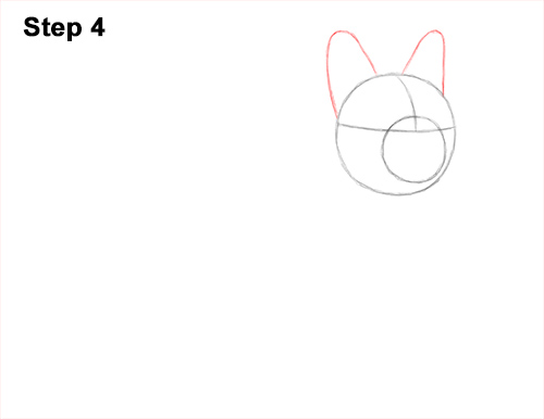 How to Draw French Bulldog Frenchie Puppy Dog 4