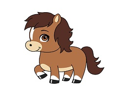 How to Draw a Horse Pony Cartoon