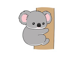 How to Draw a Koala Cartoon