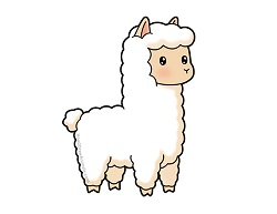 How to Draw a Cute Cartoon Llama