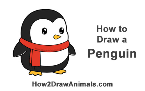 Penguin Drawing Step By Step at GetDrawings.com | Free for ...