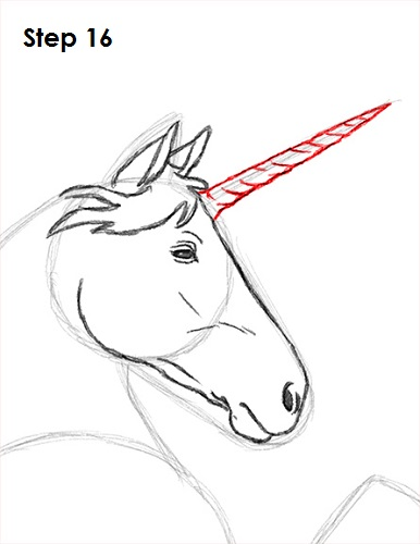 Draw unicorn 16
