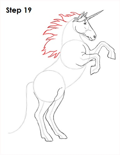 Draw unicorn 19