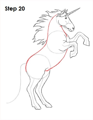 Draw Unicorn 20