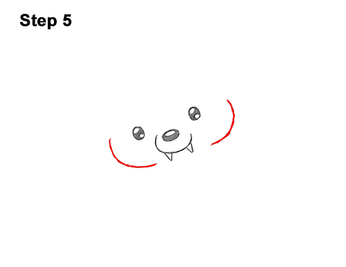 How To Draw A Puppy In A Vampire Costume For Halloween Video Step