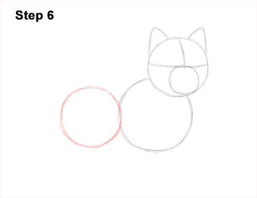 How to Draw a West Highland White Terrier Puppy Dog 6