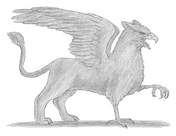 How to Draw a Griffin Gryphon