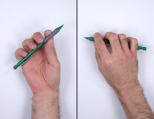 How to Draw a Circle Easy Simple Beginner Basic Art Fundamental Hold Pencil Hand