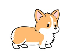 How to Draw a Welsh Corgi Cartoon Puppy Dog
