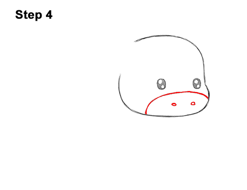 How to Draw Cute Cartoon Cow Chibi Kawaii 4