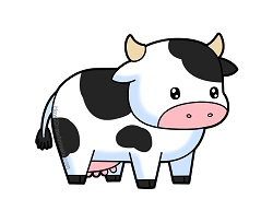 How to Draw a Cute Cartoon Cow
