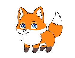 How to draw an cartoon red fox