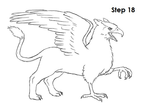 How to Draw a Griffin