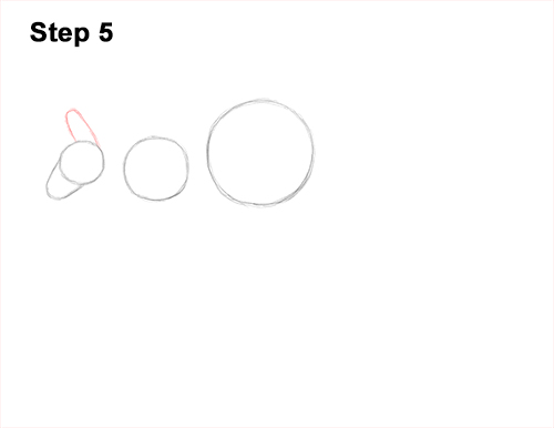 How to Draw a Red Kangaroo Jumping Hopping Leaping 5