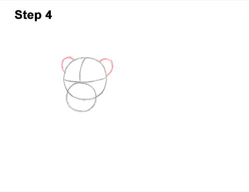 How to Draw a Lion Color Side Laying Lying Down 4