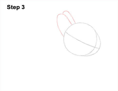 How to Draw a Cute Baby Bunny Rabbit 3