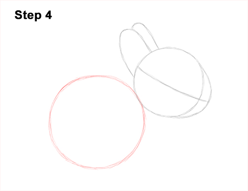 How to Draw a Cute Baby Bunny Rabbit 4