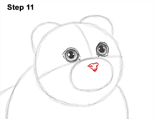 How to Draw a Scottish Fold Cat Playing Pawing Swiping 11
