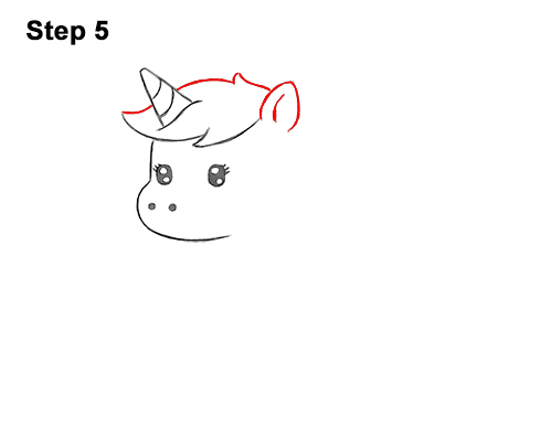 How To Draw A Unicorn Cartoon Video  Step-By-Step Pictures-4168
